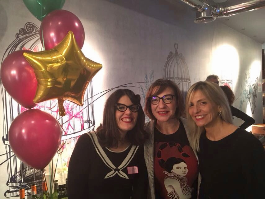 Virgina Carrera, Vega Gómez y Carmen Burillo