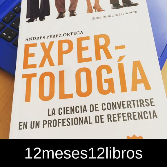 Expertología – Reto #12meses12libros